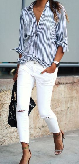 white jeans 1